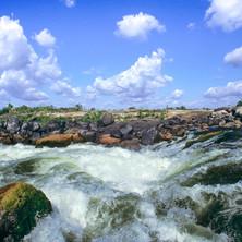 Cascade at the meeting of the Iriri and Xingu Rivers