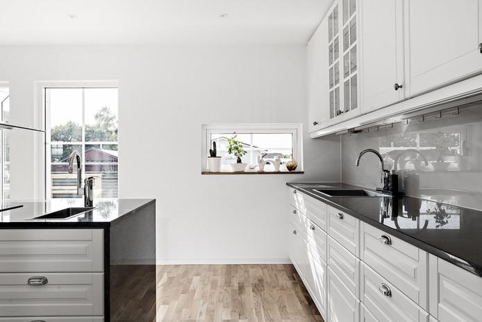 Kök och köksbänk i granit