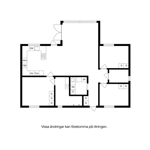 Planritning - Villa Lejs