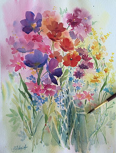 Northern Beaches Watercolour Painting classes course