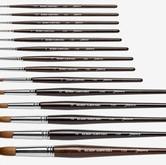Jackson's brand Kolinsky sable brushes.J