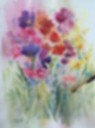 Watercolour Painting by Jenny Gilchrist Northern Beaches