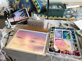 Watercolour workshops in Sydney and online