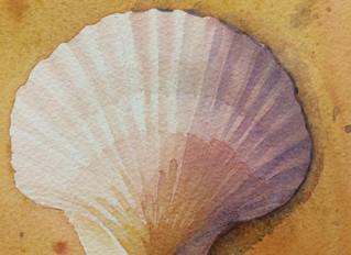 The joys of teaching Watercolour.