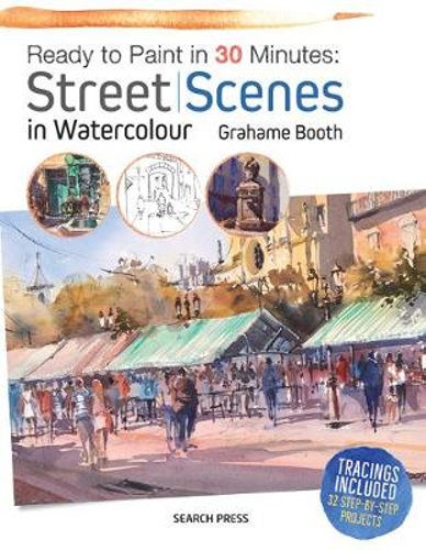 Street Scenes - Ready to Paint in 30 minutes