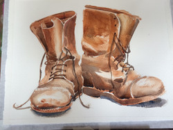 The Old Digger's boots ©