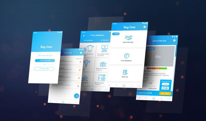 Buy Cena UX/UI App Design Casestudy