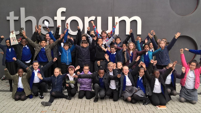 Year 6 visit the Forum