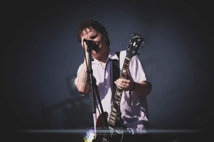 """The British alternative rock band Nothing But Thieves, live at Beauregard Festival, Hérouville-Saint-Clair, France, July 2018  © Philippe """"Pippo"""" Jawor All rights reserved."""
