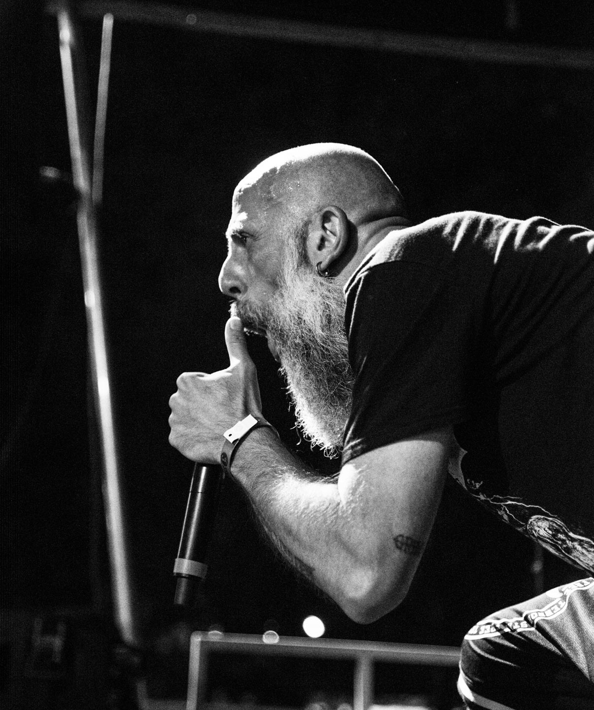 Black Bomb A @ Sylak Open Air festival, Saint Maurice de Gourdans, France, August 2017.  On assignment for Metal Obs' Magazine All rights reserved.