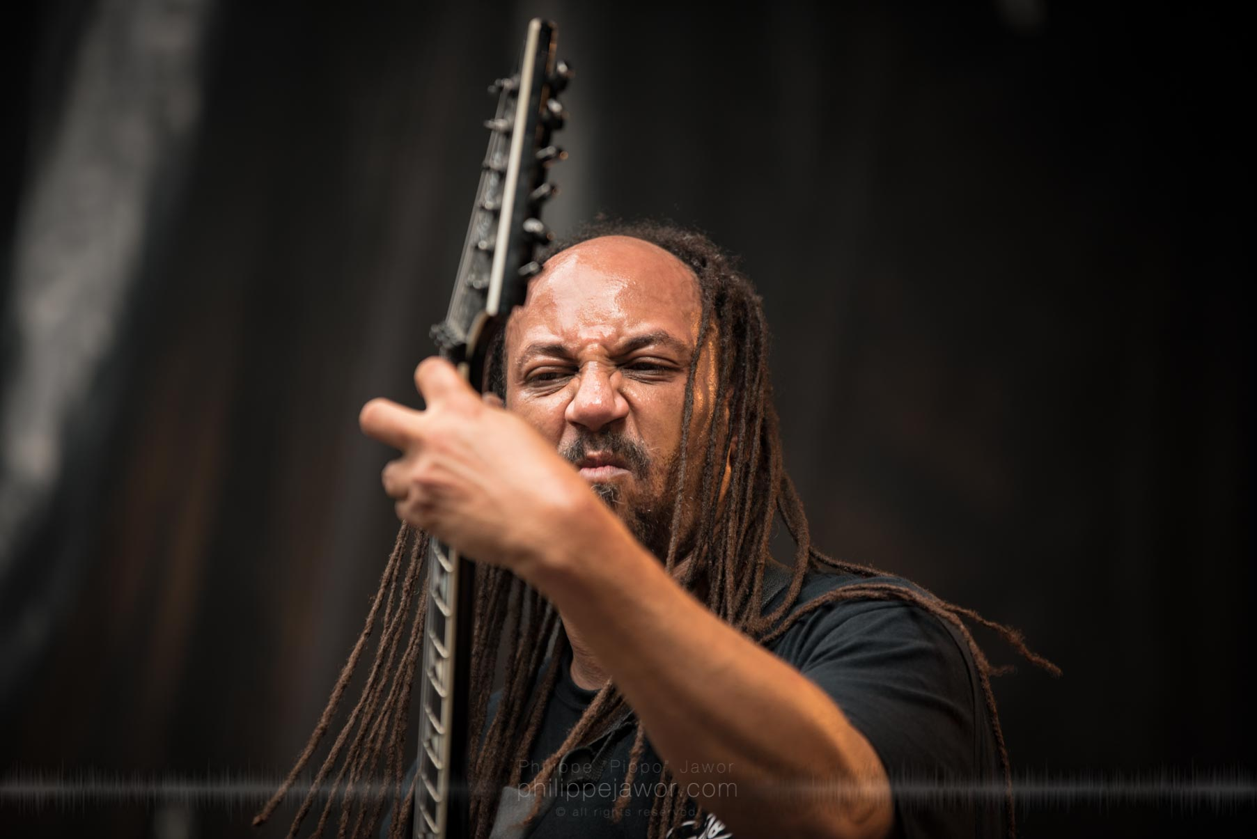 The American technical death metal band Suffocation live at Sylak Open Air festival, Saint Maurice de Gourdans, France, August 2017.  On assignment for Metal Obs' Magazine All rights reserved.