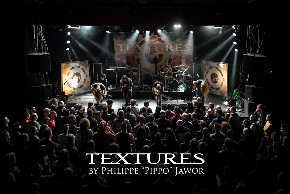 """The Dutch progressive metal band Textures, live in Lyon, France, November 2017.  On assignment for Metal Obs' Magazine © Philippe """"Pippo"""" Jawor All rights reserved."""
