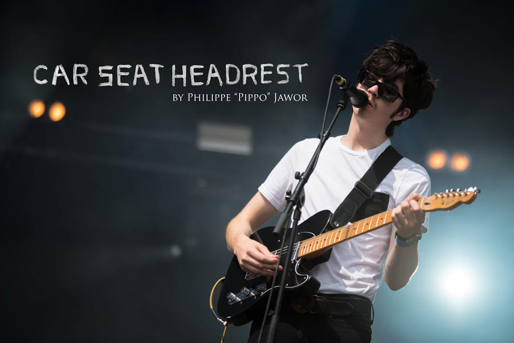 The American indie rock band Car Seat Headrest, live at Rock en Seine festival, Paris, France, August 2017.  On assignment for ZYVA Magazine All rights reserved.