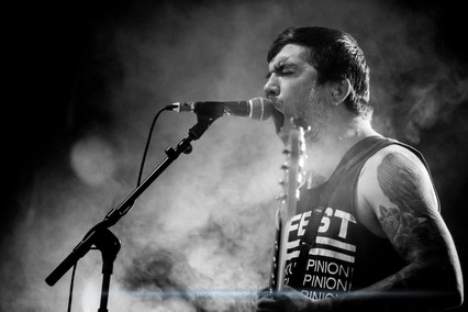 """The American hardcore punk band Converge, live at Download Festival France, June 2018.  © Philippe """"Pippo"""" Jawor All rights reserved."""