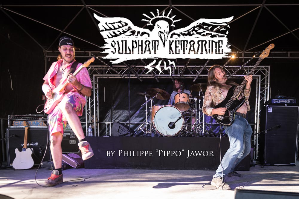 Sulphat'Ketamine @ Sylak Open Air, Saint Maurice de Gourdans, France, August 2017.  On assignment for Metal Obs' Magazine All rights reserved.