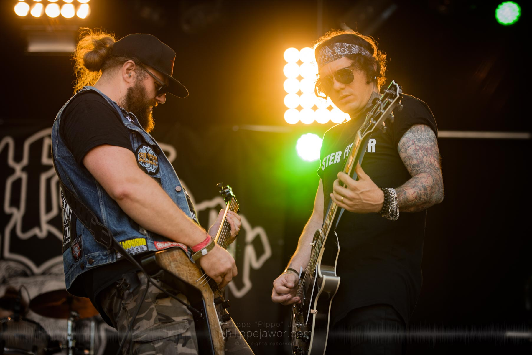 The French stoner rock band Goatfather, live at Sylak Open Air festival, Saint Maurice de Gourdans, August 2017.  On assignment for Metal Obs' Magazine All rights reserved.