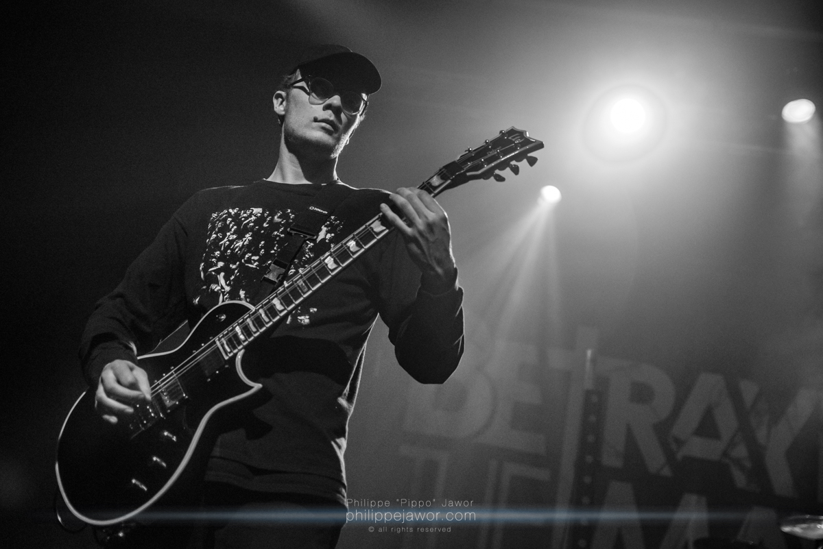 "The French metalcore band Resolve, live in Lyon, France, March 2018.  © Philippe ""Pippo"" Jawor All rights reserved."