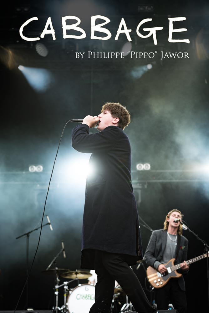 The English indie rock band Cabbage, live at Rock en Seine festival, Paris, France, August 2017.  On assignment for ZYVA Magazine All rights reserved.