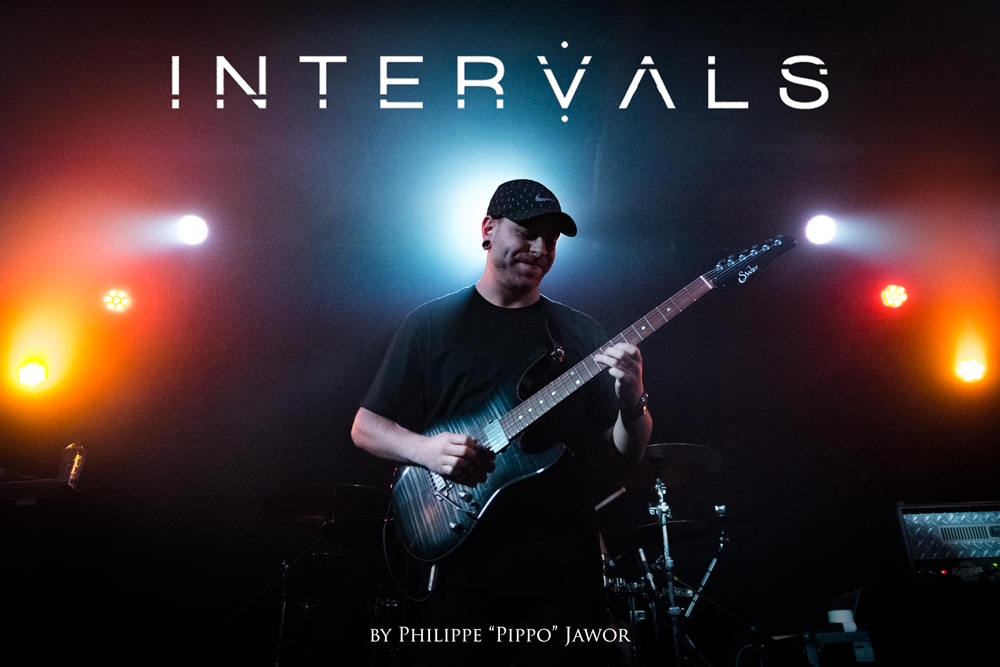 "The Canadian progressive metal band Intervals, live in Lyon, France, November 2017.  © Philippe ""Pippo"" Jawor All rights reserved."