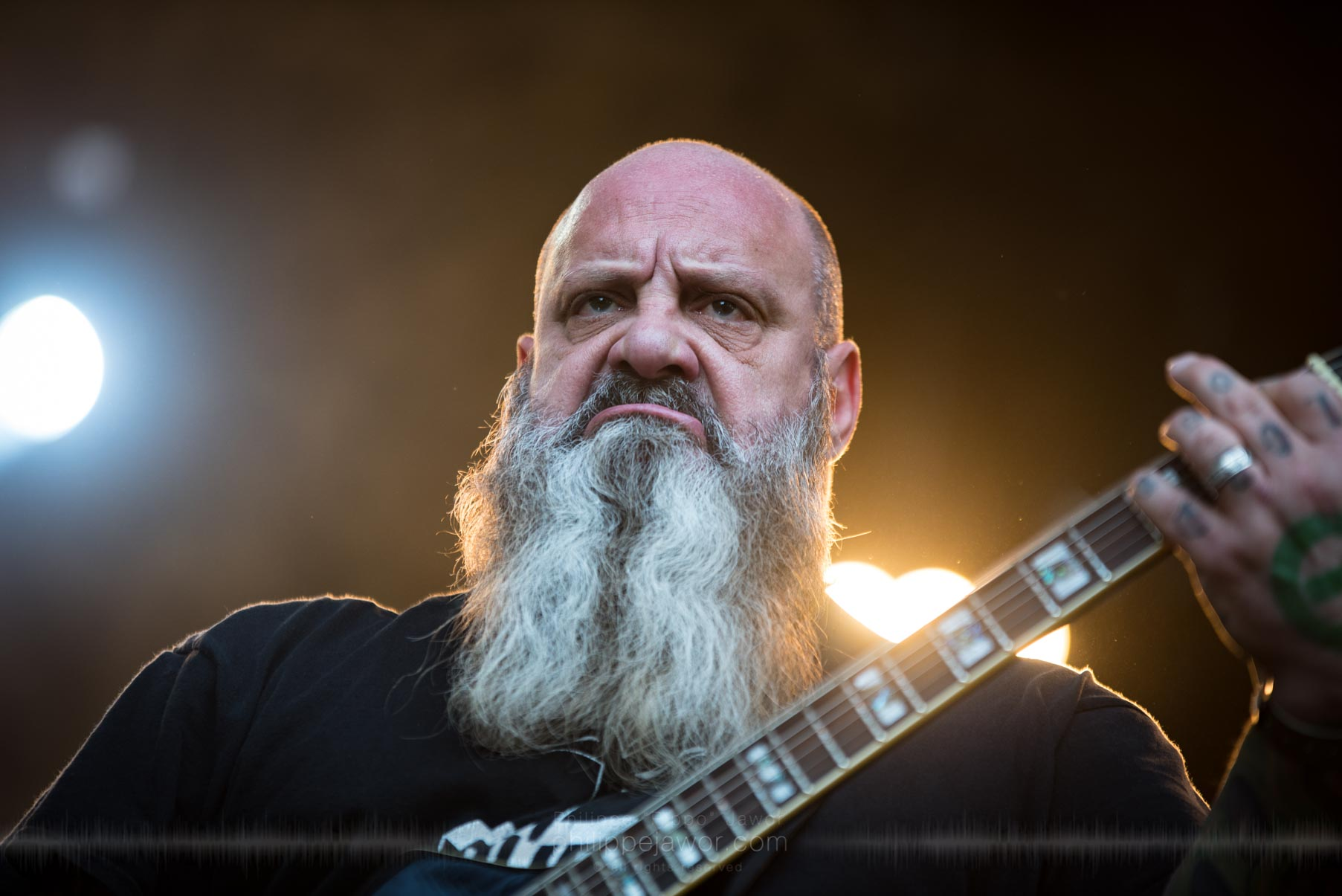 The American sludge metal band Crowbar, live at Sylak Open Air festival, Saint Maurice de Gourdans, France, August 2017.  On assignment for Metal Obs' Magazine All rights reserved.