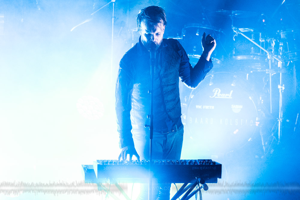 """The Norwegian progressive metal band Leprous, live in Lyon, France, November 2017.  ©Philippe """"Pippo"""" Jawor All rights reserved."""