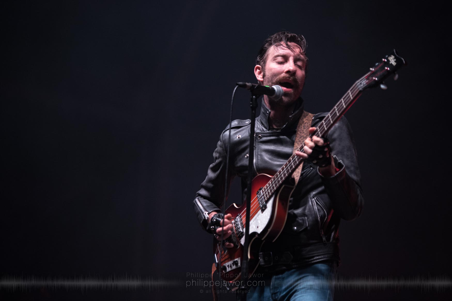 The American garage rock band Black Lips, live at Rock en Seine festival, Paris, France, August 2017.  On assignment for ZYVA Magazine All rights reserved.