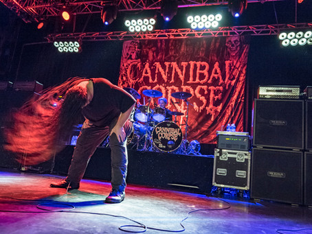 CANNIBAL CORPSE + THE BLACK DAHLIA MURDER + IN ARKADIA – Saint-Étienne, 07.03.2018