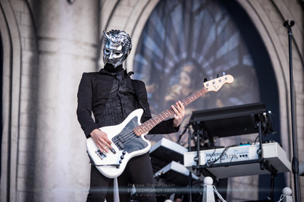 """The Swedish rock band Ghost, live at Download Festival France, June 2018.  © Philippe """"Pippo"""" Jawor All rights reserved."""