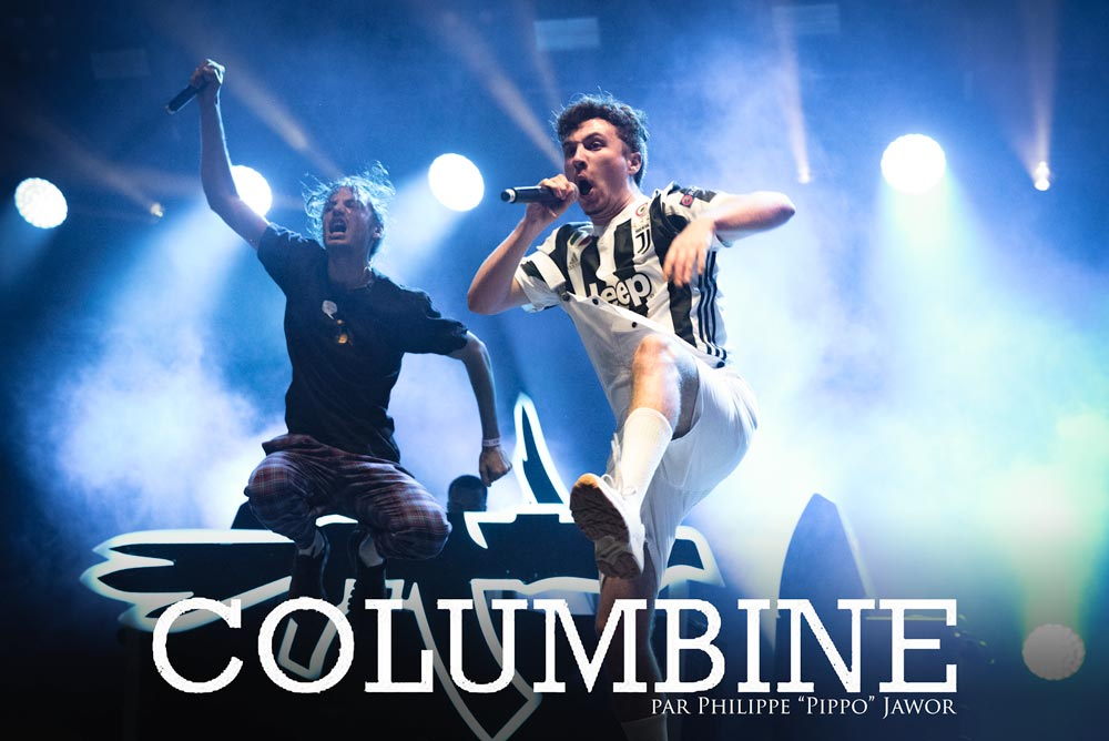The French hip hop collective Columbine, live at Rock en Seine festival, Paris, France, August 2017.  On assignment for ZYVA Magazine All rights reserved.