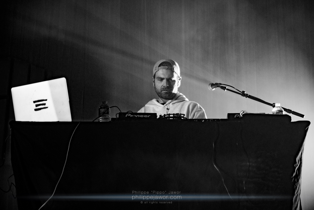"The French producer/DJ Simon ""Toxic Avenger"" Delacroix, live in Lyon, France, February 2018.  © Philippe ""Pippo"" Jawor All rights reserved."