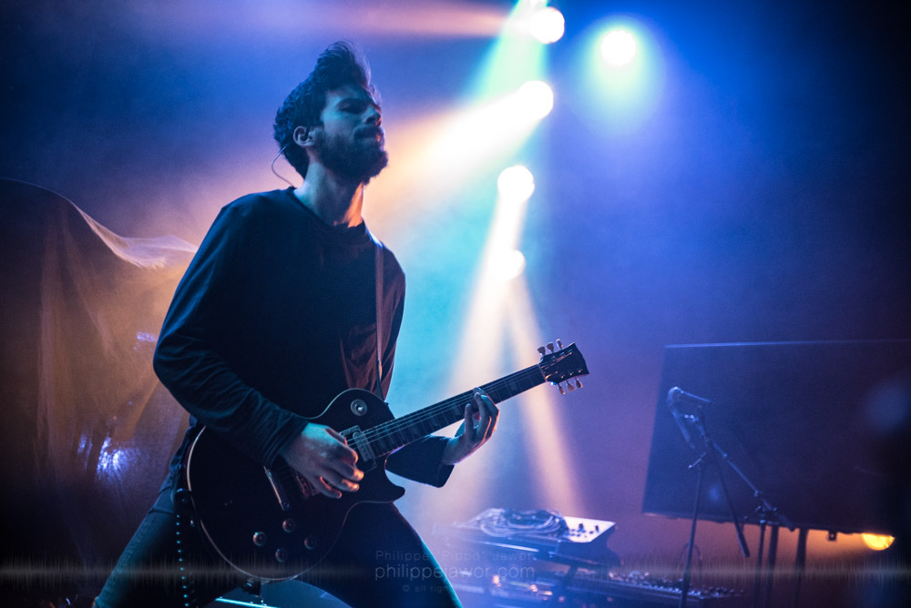 """The Norwegian progressive metal band Astrosaur, live in Lyon, France, November 2017.  ©Philippe """"Pippo"""" Jawor All rights reserved."""