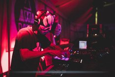 """The French electro duo Tha Trickaz, live at Foreztival festival, Trelins, France, August 2019.  © Philippe """"Pippo"""" Jawor All rights reserved."""