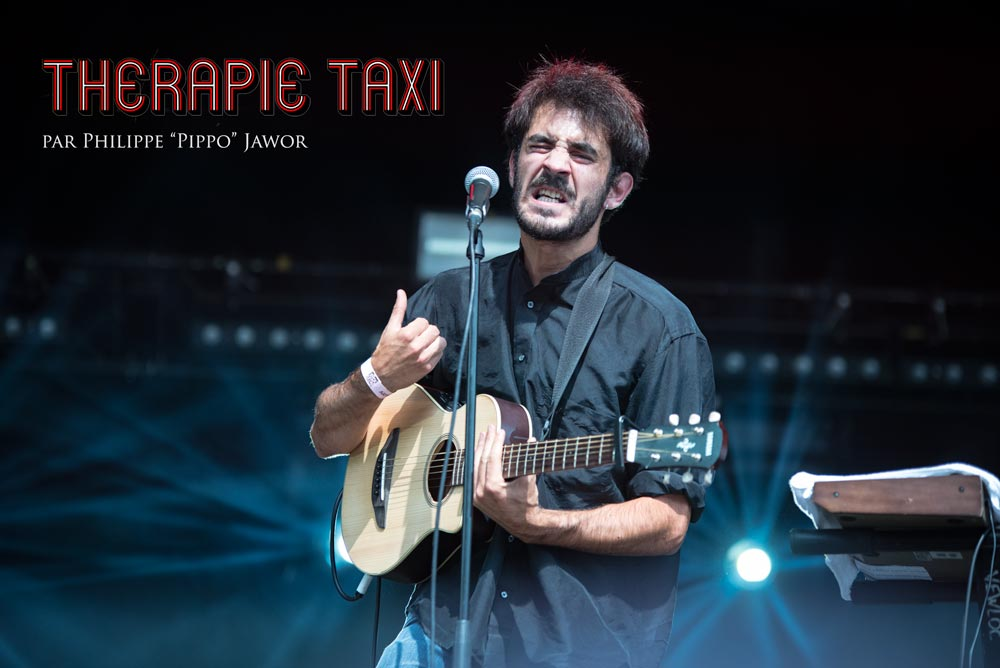 The French pop ban Therapie Taxi, live at Rock en Seine festival, Paris, France, August 2017.  On assignment for ZYVA Magazine All rights reserved.
