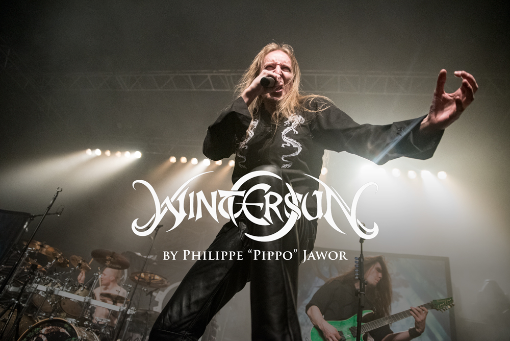 "The Finnish heavy metal band Wintersun, live in Lyon, France, January 2018.  © Philippe ""Pippo"" Jawor All rights reserved."