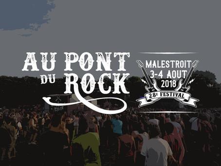 FESTIVAL AU PONT DU ROCK – Malestroit, 03-04.08.2018