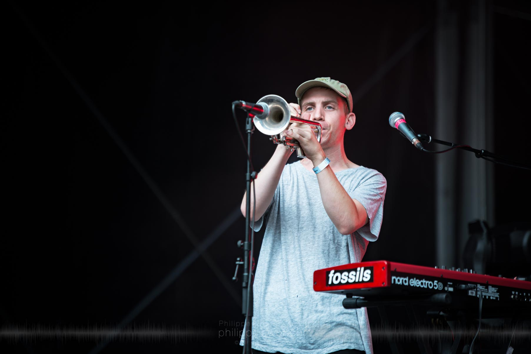 The American indie rock band Beach Fossils, live at Rock en Seine festival, Paris, France, August 2017.  On assignment for ZYVA Magazine All rights reserved.