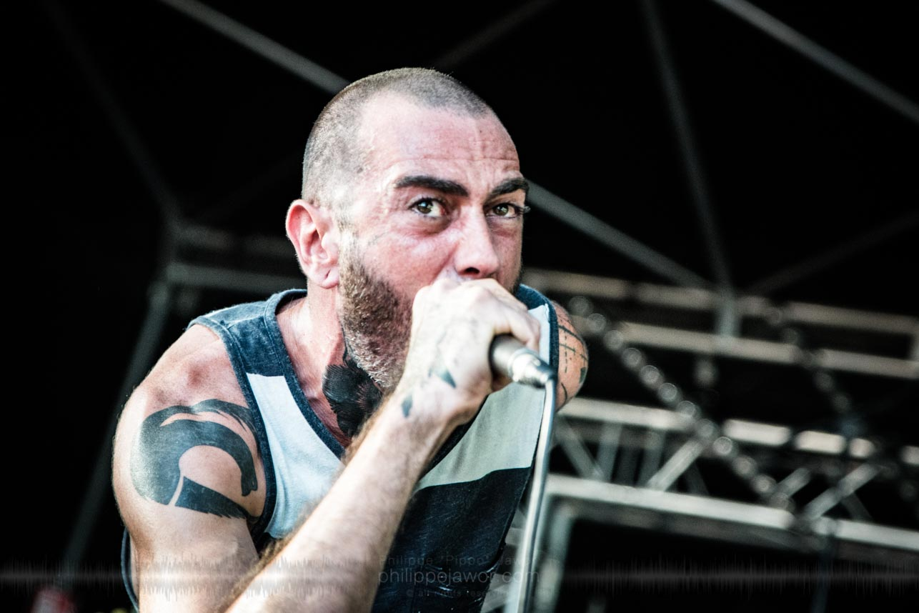 Split the Atom @ Sylak Open Air festival, Saint-Maurice-de-Gourdans, France, August 2017.  On assignment for Metal Obs' Magazine All rights reserved.