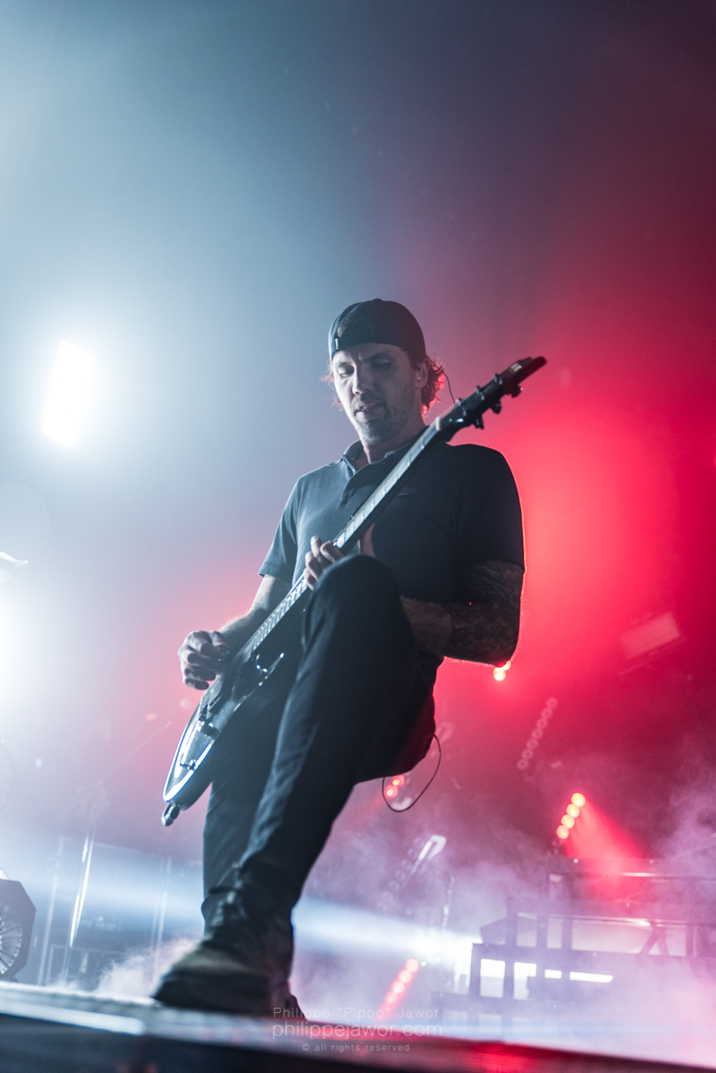 "The Australian metalcore band Parkway Drive, live in Lyon, France, June 2018.  © Philippe ""Pippo"" Jawor All rights reserved."