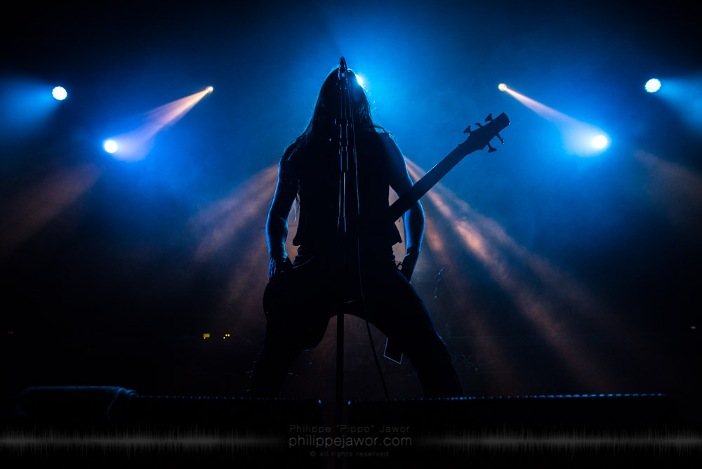 """The American Melodic Death/Folk Metal band Æther Realm, live in Lyon, France, October 2017.  © Philippe """"Pippo"""" Jawor All rights reserved."""