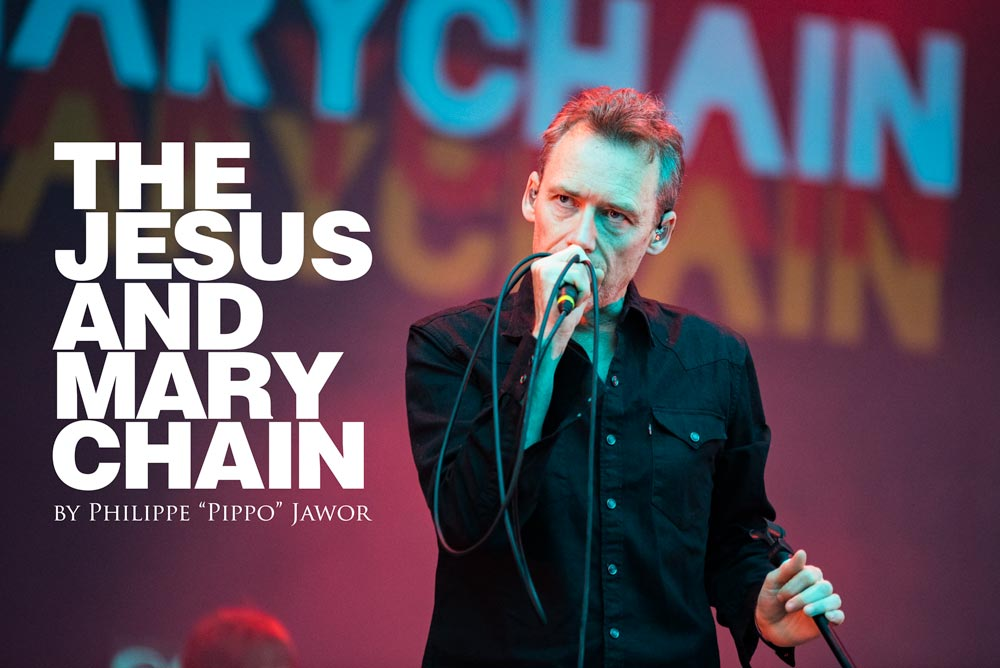 The Scottish alternative rock band The Jesus and Mary Chain, live at Rock en Seine festival, Paris, France, August 2017.  On assignment for ZYVA Magazine  All rights reserved.