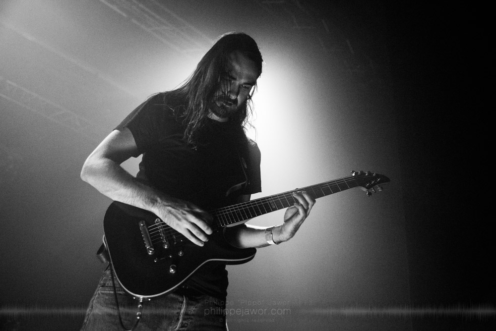"""The German Black Metal band Der Weg einer Freiheit, live in Lyon, France, octobre 2017.  On assignment for Metal Obs' Magazine  © Philippe """"Pippo"""" Jawor All rights reserved."""