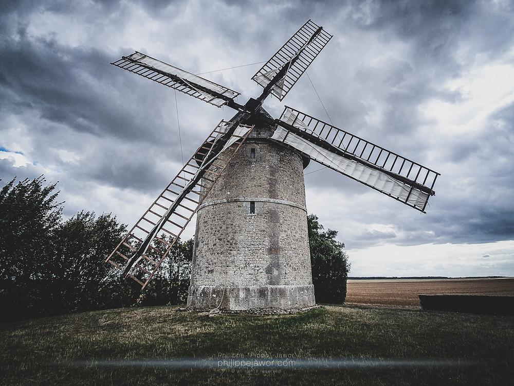 Moulin de Frouville-Pensier, Eure-et-Loir, France