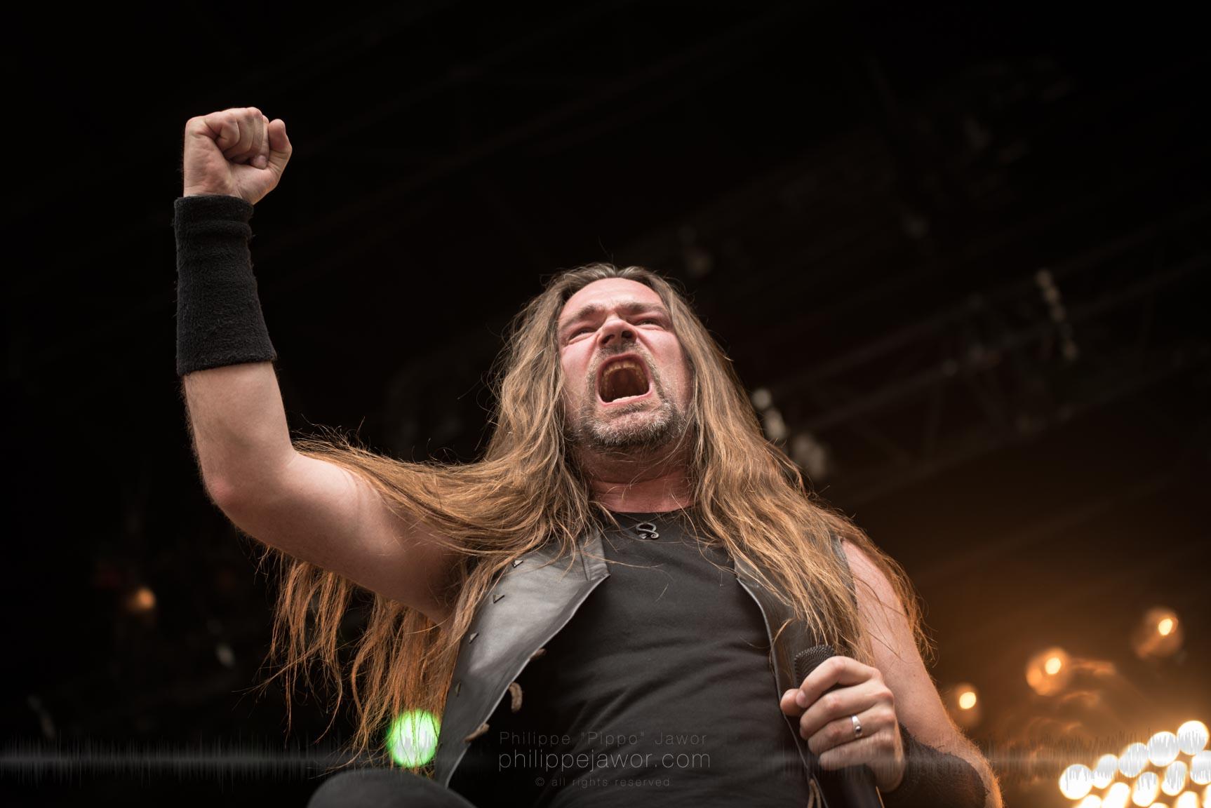 The Dutch folk metal band Heidevolk live at Sylak Open Air festival, Saint Maurice de Gourdans, France, August 2017.  On assignment for Metal Obs' Magazine All rights reserved.