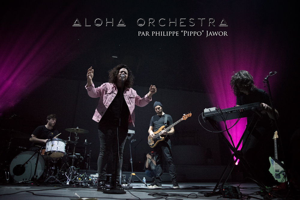 "The French pop band Aloha Orchestra, live in Lyon, France, November 2017.  © Philippe ""Pippo"" Jawor On assignment for ZYVA Magazine All rights reserved."