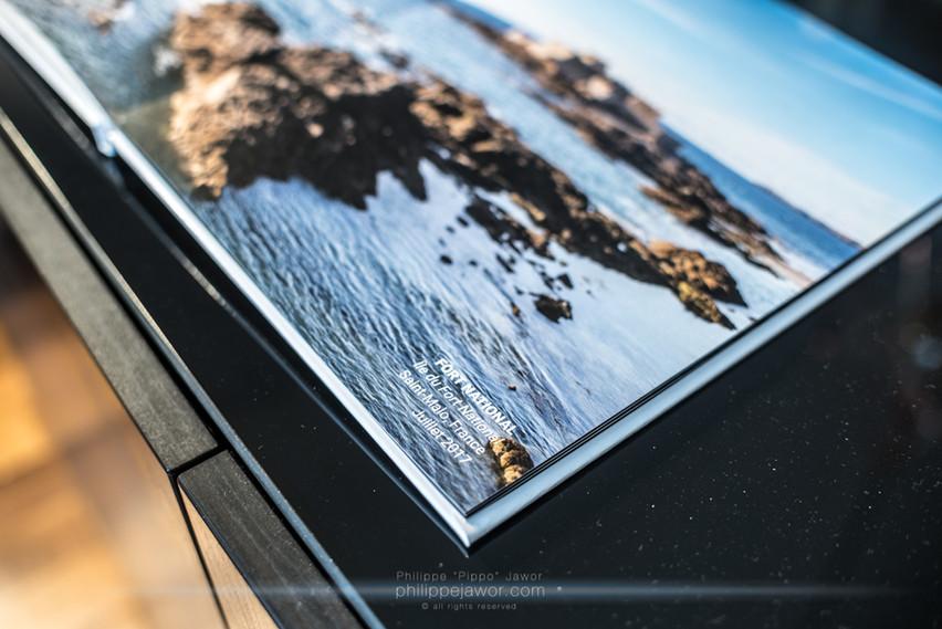 Sur la photo d'un paysage de Saint-Malo, les couleurs sont vives et respectent bien mon développement, la netteté tout autant
