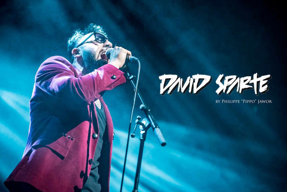 "The French soul singer David Sparte, live in Lyon, France, December 2017.  © Philippe ""Pippo"" Jawor All rights reserved."