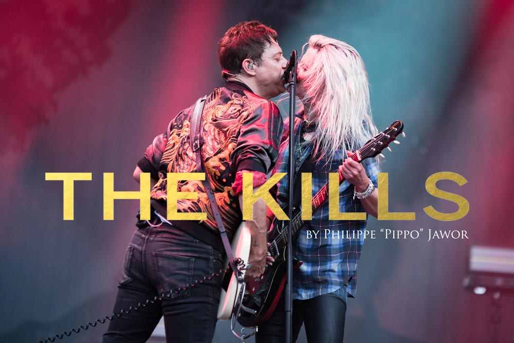 The British-American indie rock band The Kills, live at Rock en Seine festival, Paris, France, August 2017.  On assignment for ZYVA Magazine All rights reserved.
