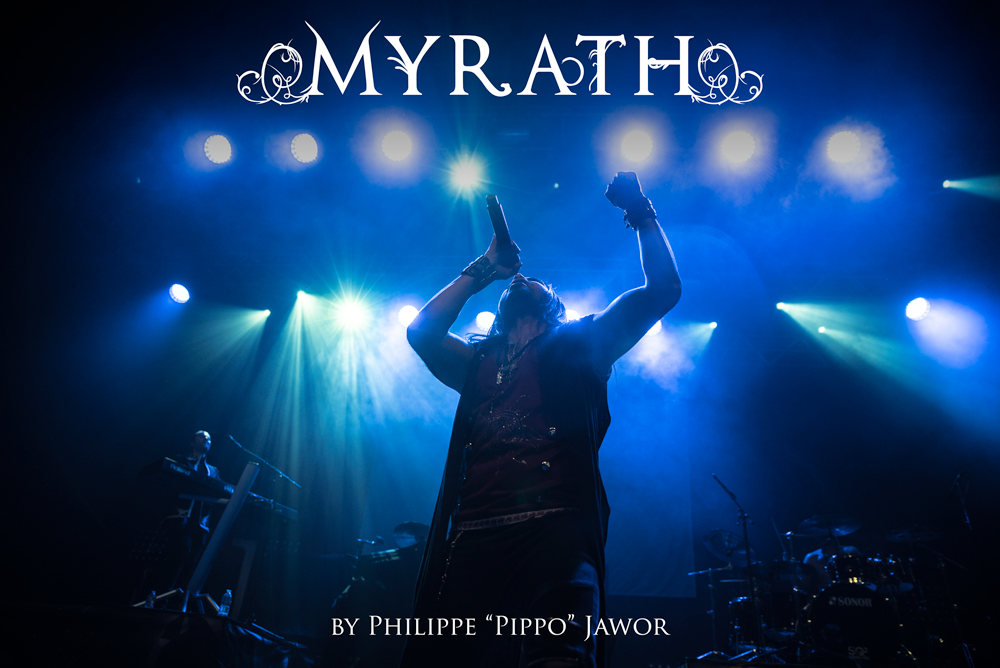 """The Tunisian progressive metal band Myrath, live in Lyon, France, November 2017.  ©Philippe """"Pippo"""" Jawor All rights reserved."""