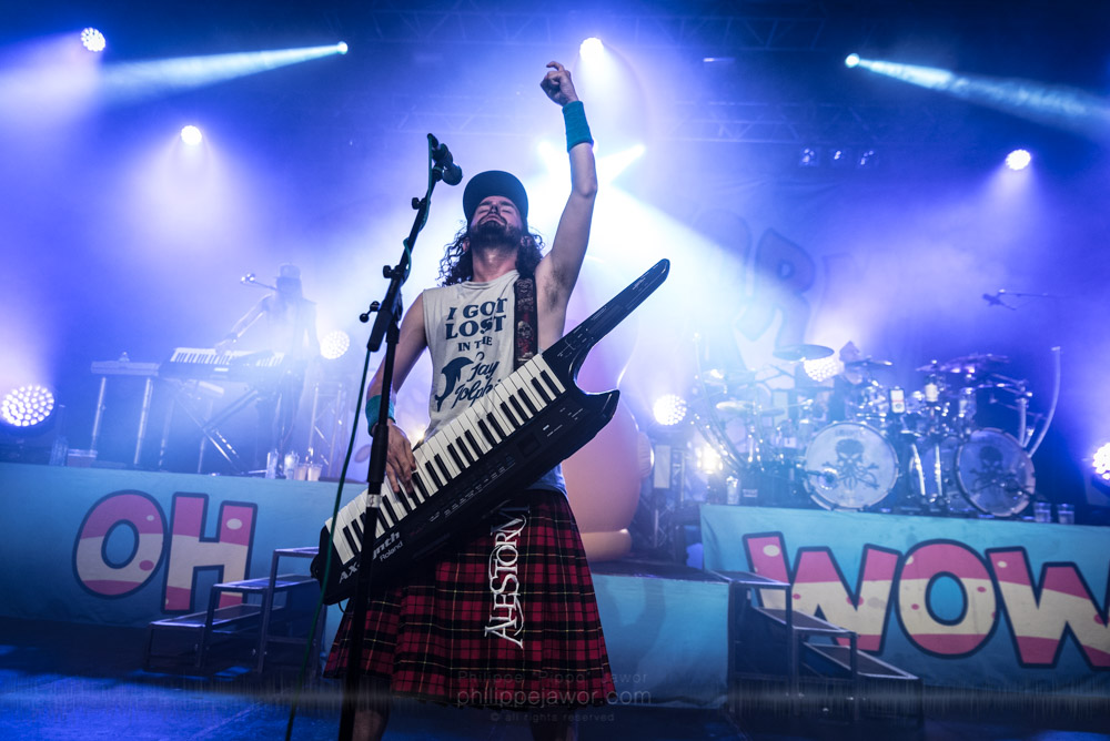 """The Scottish pirate metal band Alestorm, live in Lyon, France, October 2017.  © Philippe """"Pippo"""" Jawor All rights reserved."""