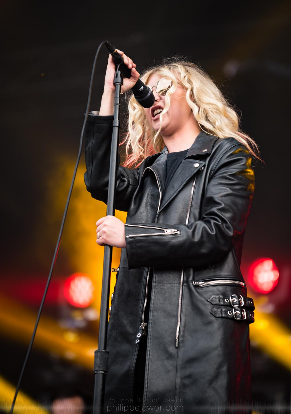 The American rock band The Pretty Reckless, live at Rock en Seine festival, Paris, France, August 2017.  On assignment for ZYVA Magazine All rights reserved.